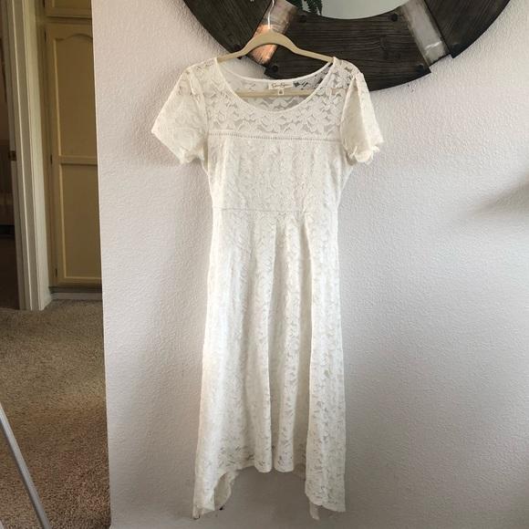 3ffa4adff06e8 Jessica Simpson Dresses | White Lace Maternity Dress | Poshmark